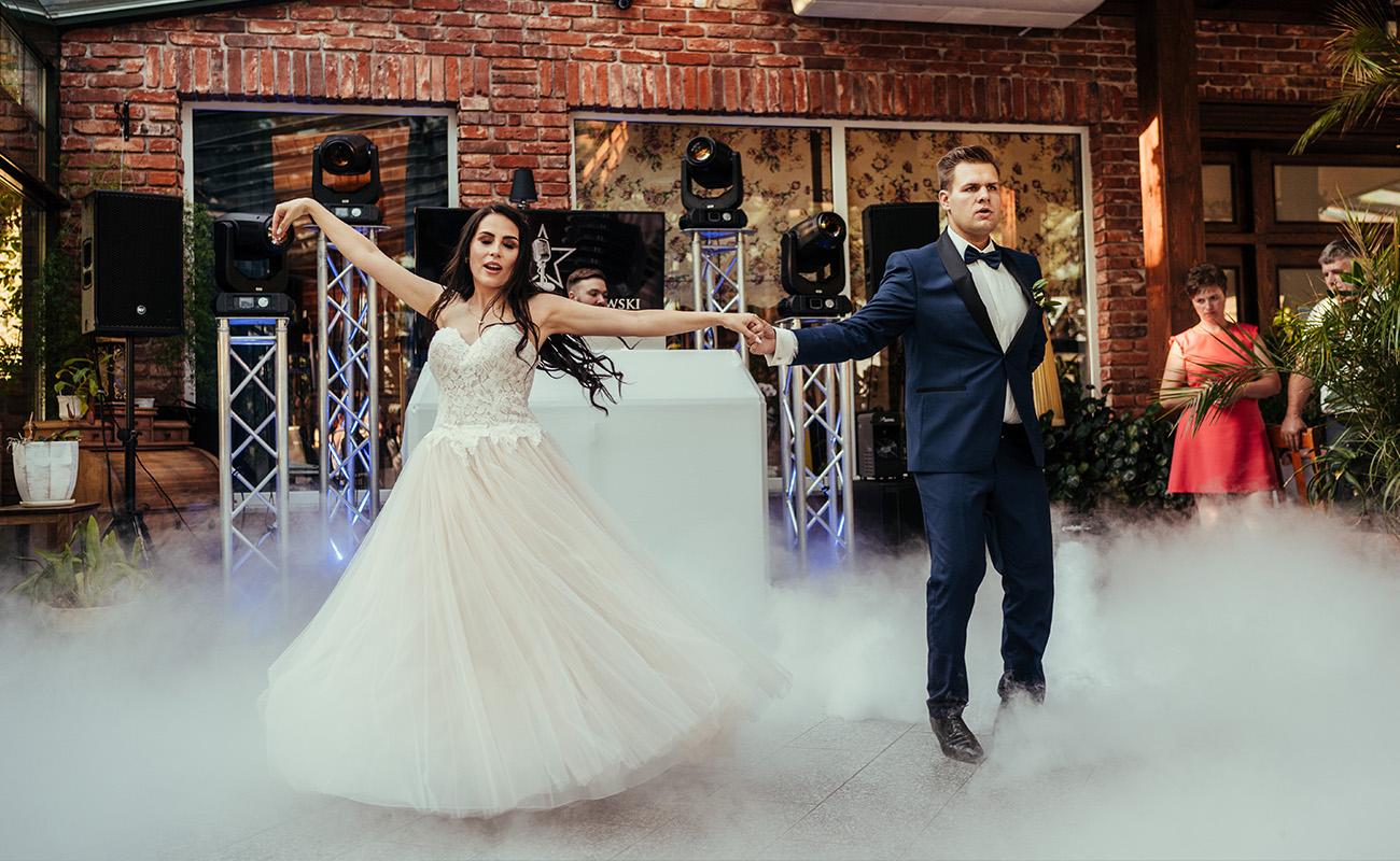 Przyjęcie weselne w oranżerii
